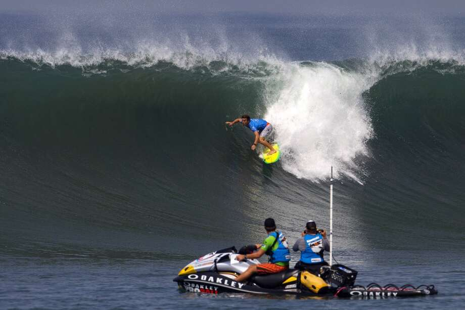 Yadin Nicol of Australia surfs during round three on June 25, 2013 in Denpasar, Bali, Indonesia.