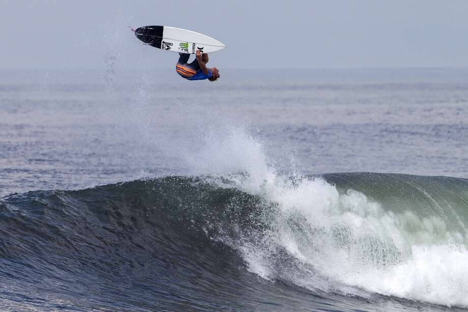 John John Floremce of Hawaii surfs on June 25, 2013 in Denpasar, Bali, Indonesia.