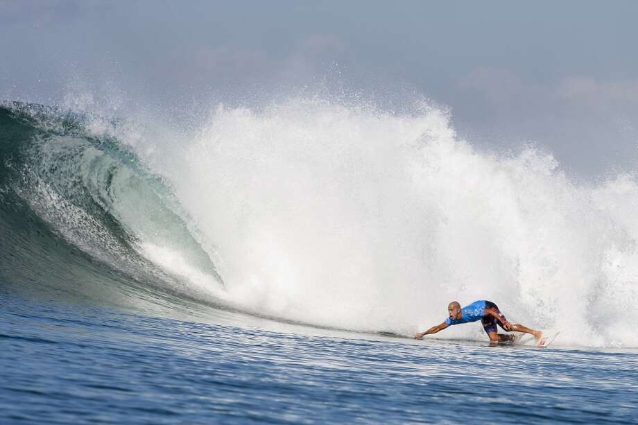 Kelly Slater of the United States of America surfs to an equal ninth place on June 26, 2013 in Denpasar, Bali, Indonesia.