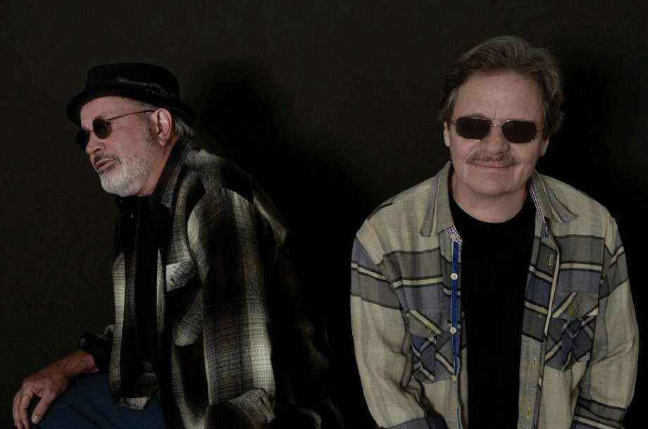 Glen Clark, left, andDelbert McClinton have reunited after 40 years. Photo: Mary Bruton Keating / handout