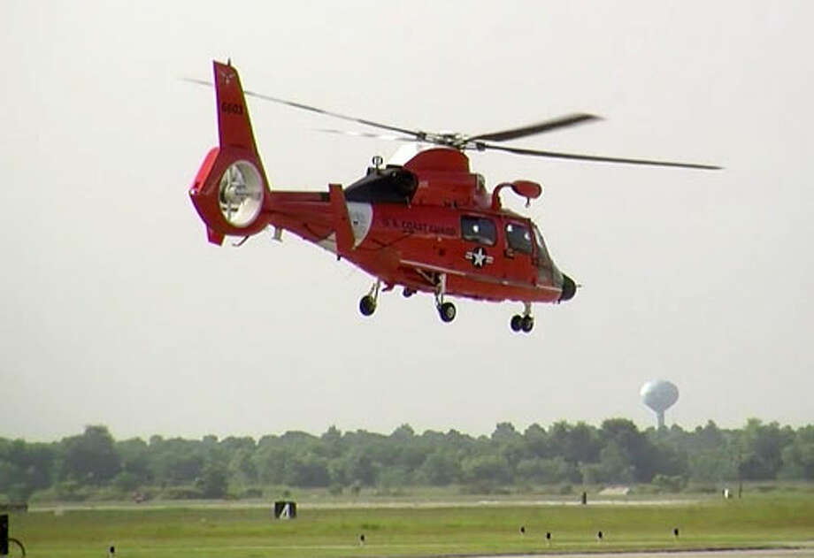 Coast Guard helicopter Photo: USCG