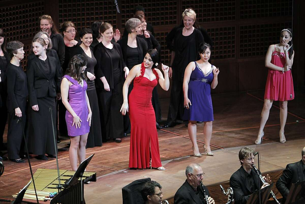 """""""America,"""" performed in West Side Story led by Michael Tilson Thomas at the San Francisco Symphony on Thursday, June 27, 2013."""