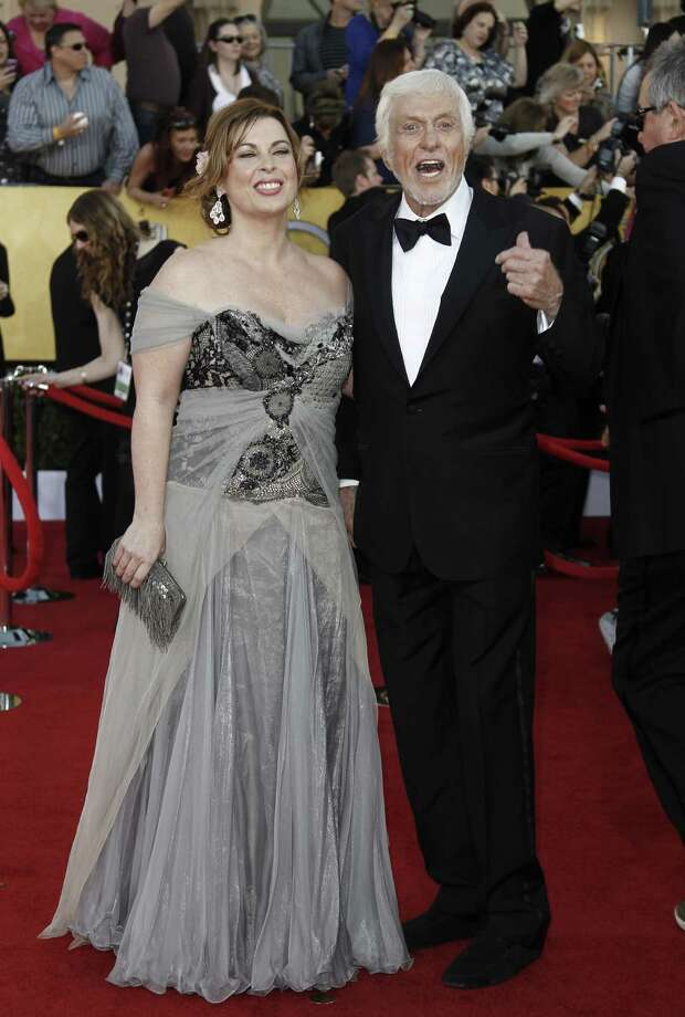 Dick Van Dyke, 86, married make-up artist Arlene Smith, 40, in 2012. They're pictured here at the Screen Actors Guild Awards. Photo: Matt Sayles, Associated Press / AP2012