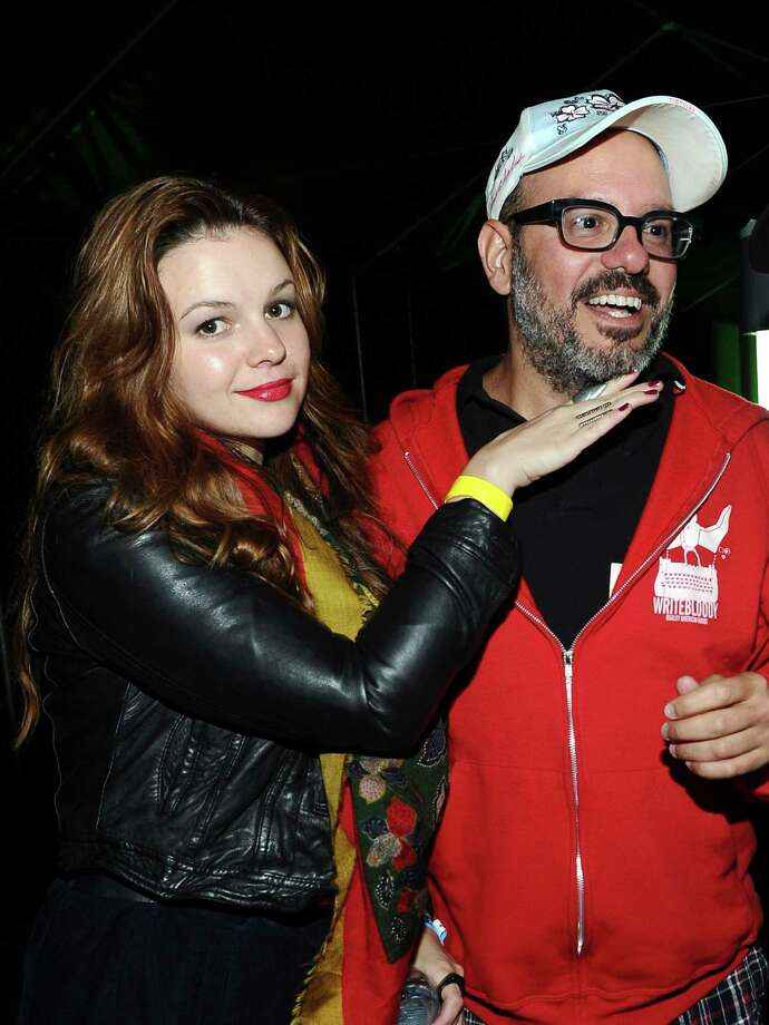 Amber Tamblyn, 28, and David Cross, 47, got married in 2012. Photo: Michael Buckner, Getty Images For Activision / 2011 Getty Images