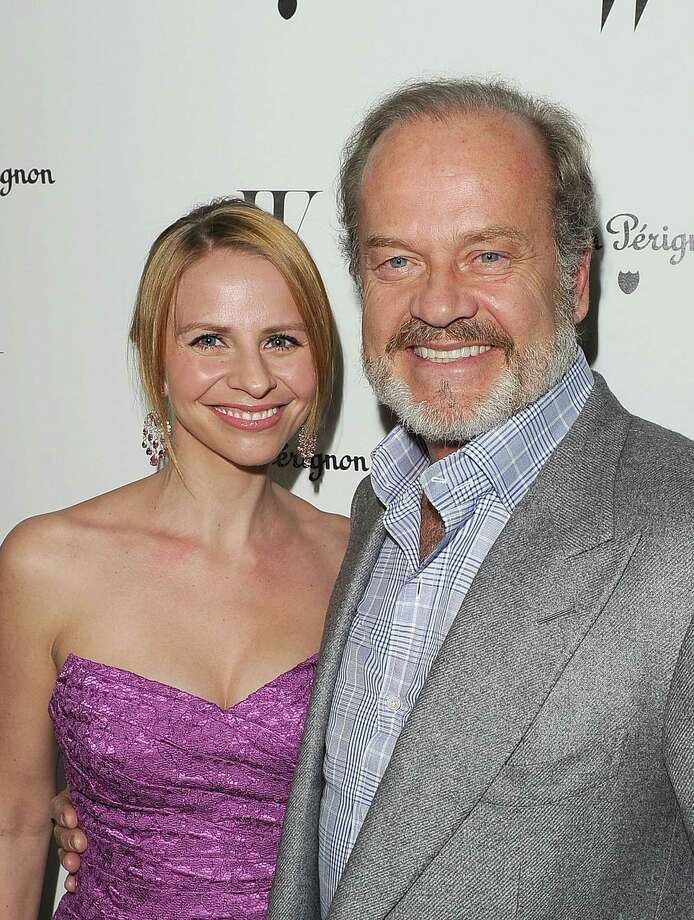 Kelsey Grammer, 59, with wife Kayte Grammer, 34,  at the W Magazine Best Performances Issue and The Golden Globes celebration in 2012. They wed in 2011. Photo: Jason Merritt, 2012 Getty Images / 2012 Getty Images