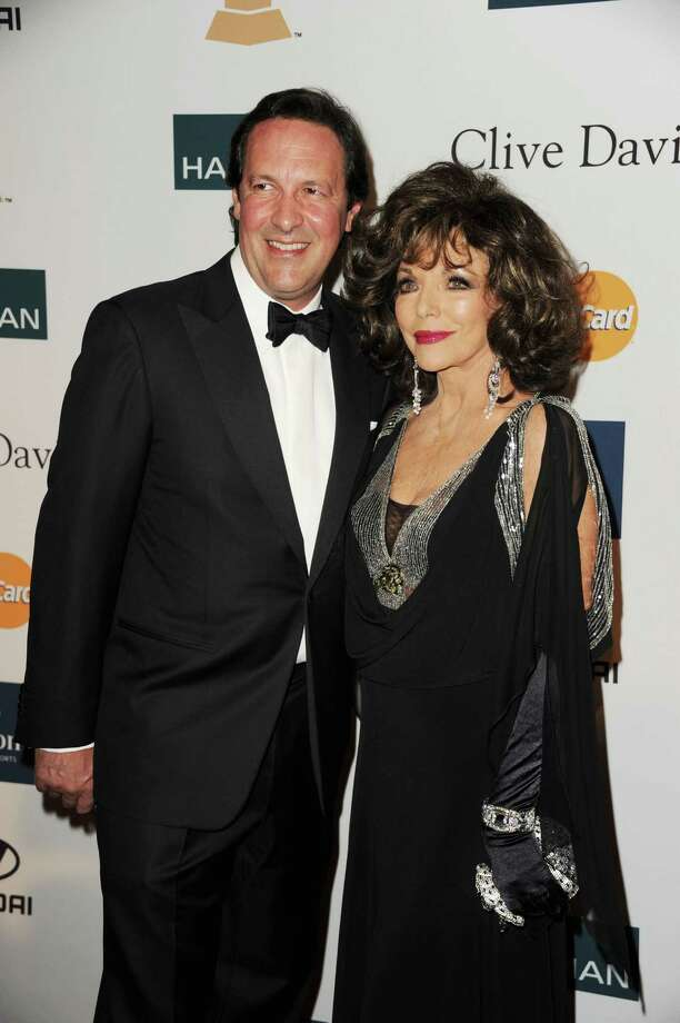 Joan Collins, 81, and husband Percy Gibson, 48, married in 2002. Photo: Kevin Winter, Getty Images / 2012 Getty Images