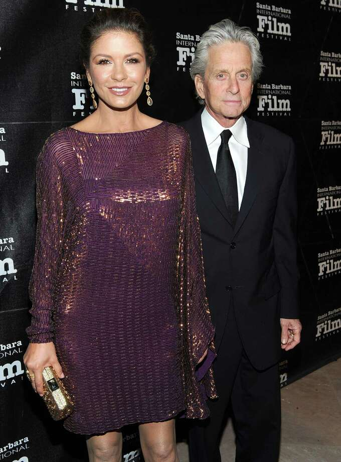 Catherine Zeta-Jones, 45, with husband Michael Douglas,70, have been married since 2000. Photo: Michael Buckner, Getty Images / 2011 Getty Images