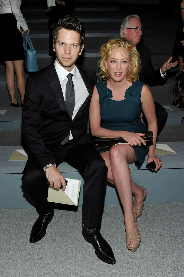 Nick Holmes, 32, and actress Virginia Madsen, 53. Photo: Jason Kempin, 2011 Getty Images / 2011 Getty Images