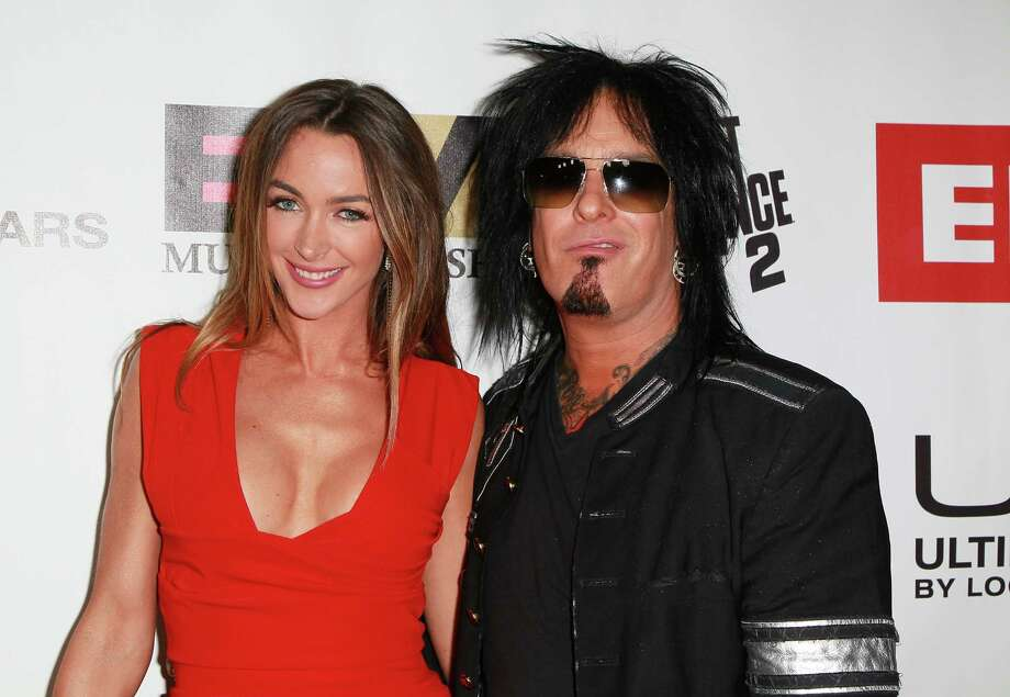 Motley Crue bassist Nikki Sixx, 56, married Courtney Bingham, 29, in 2014. Photo: David Livingston, Getty Images / 2011 Getty Images
