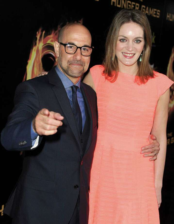 "Stanley Tucci, 54, married Felicity Blunt, 33, in 2012. Blunt is the sister of actor Emily Blunt, who co-starred with Tucci in ""The Devil Wears Prada."" Tucci's first wife died of cancer in 2009. Photo: Kevin Winter, Getty Images / 2012 Getty Images"