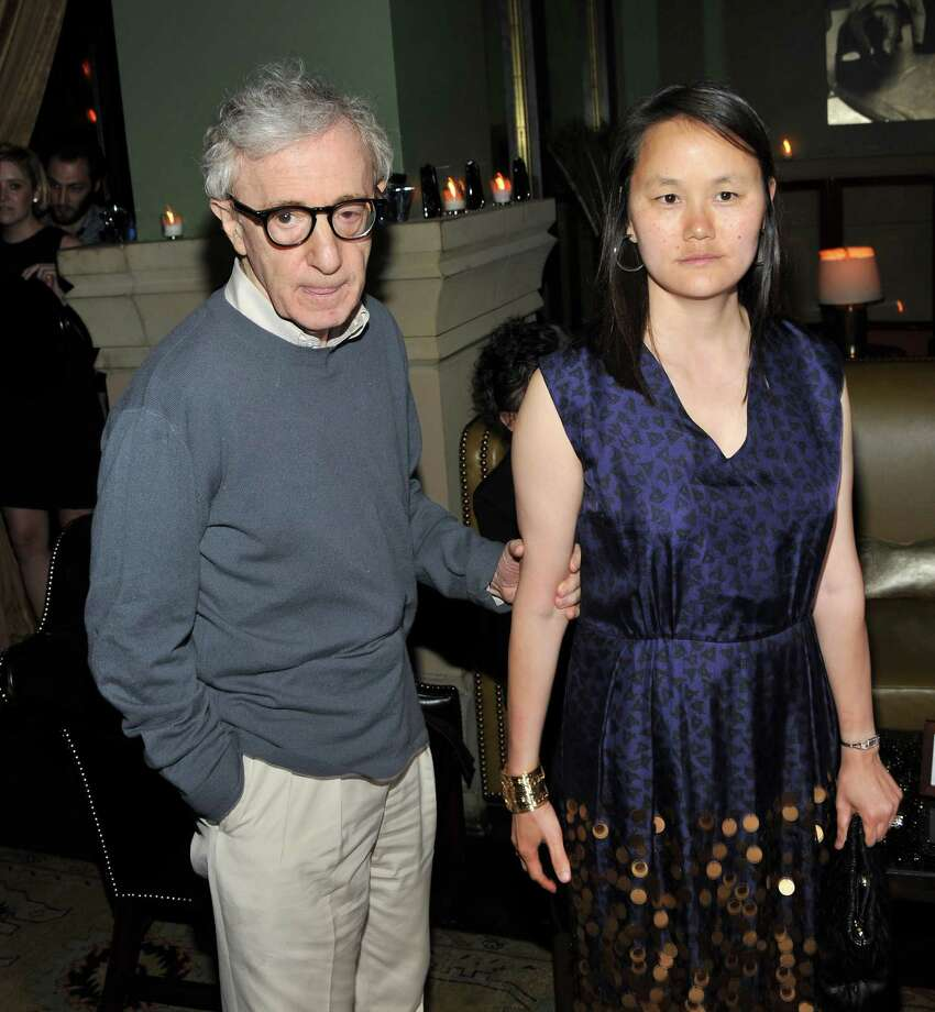 Soon-Yi Previn, 44, and husband Woody Allen, 79. Photo: Stephen Lovekin, Getty Images / 2011 Getty Images