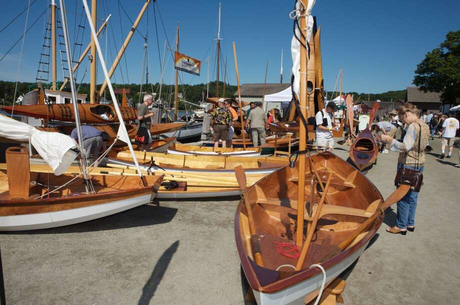 Mystic Seaport's annual WoodenBoat Show runs June 28 to 30, 2013 in Stonington.