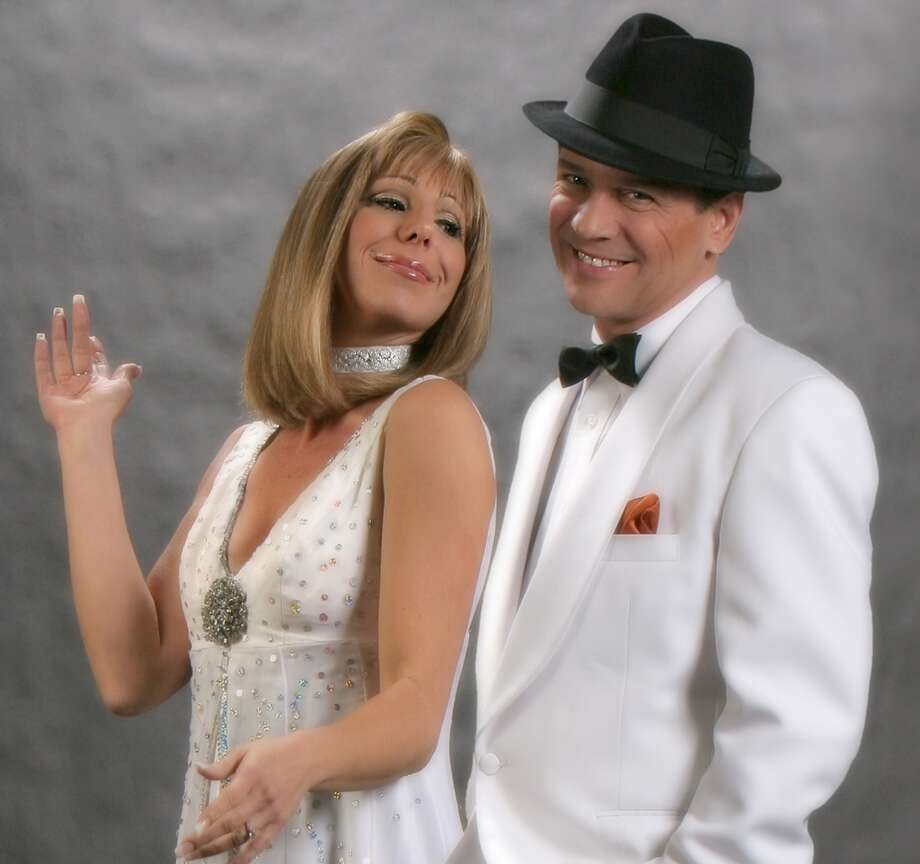 "Sharon Owens and Sebastian Anzaldo play two American show business legends in ""Barbra and Frank - The Concert That Never Was!"" at Downtown Cabaret Theatre in Bridgeport, Conn. on Friday, June 28 and Saturday, June 29, 2013."