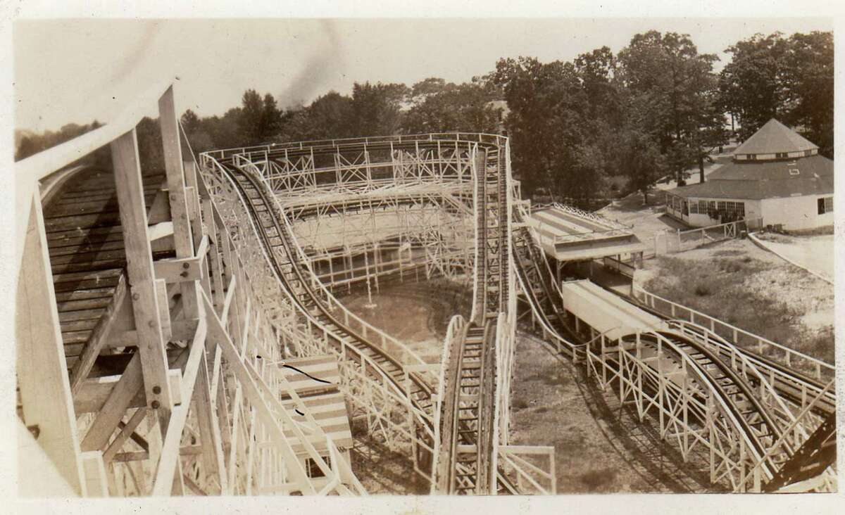 Roton Point Amusement Park, which operated in Rowayton, Conn., in the late 1880s to early 1900s, boasted rides (such as this roller coaster), games and plenty of diversions to keep families entertained all day. An exhibition presented by the Rowayton Historical Society revisits the park through artifacts and other objects. It will run through Labor Day 2013.