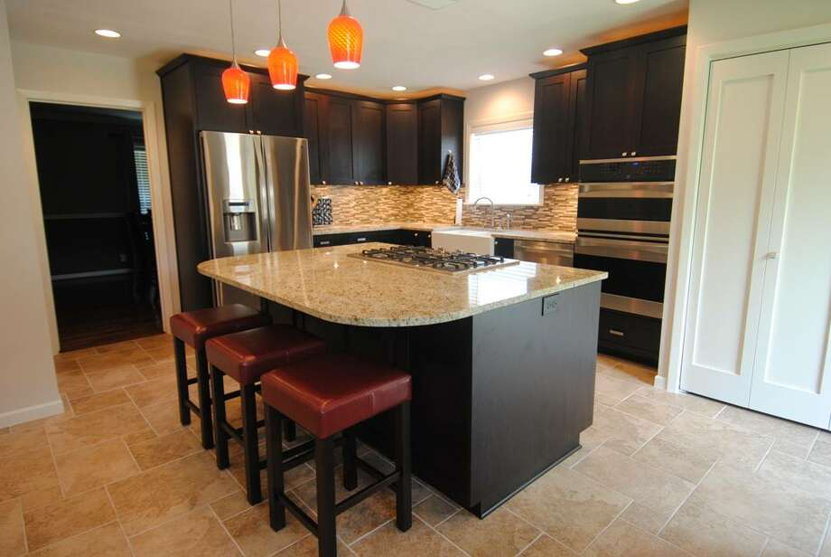 The kitchen remodel was done by Dan Bawden.
