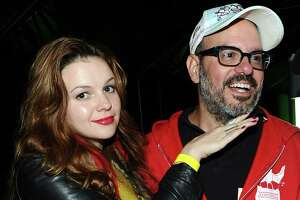 Amber Tamblyn, 28, and David Cross, 47, got married in 2012.