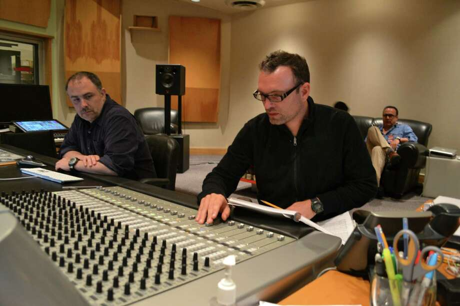 """British-born composer Henry Jackman turned to the apocalyptic sounds of orchestra and chorus in his music for """"This Is the End."""" Photo: Dan Goldwasser"""