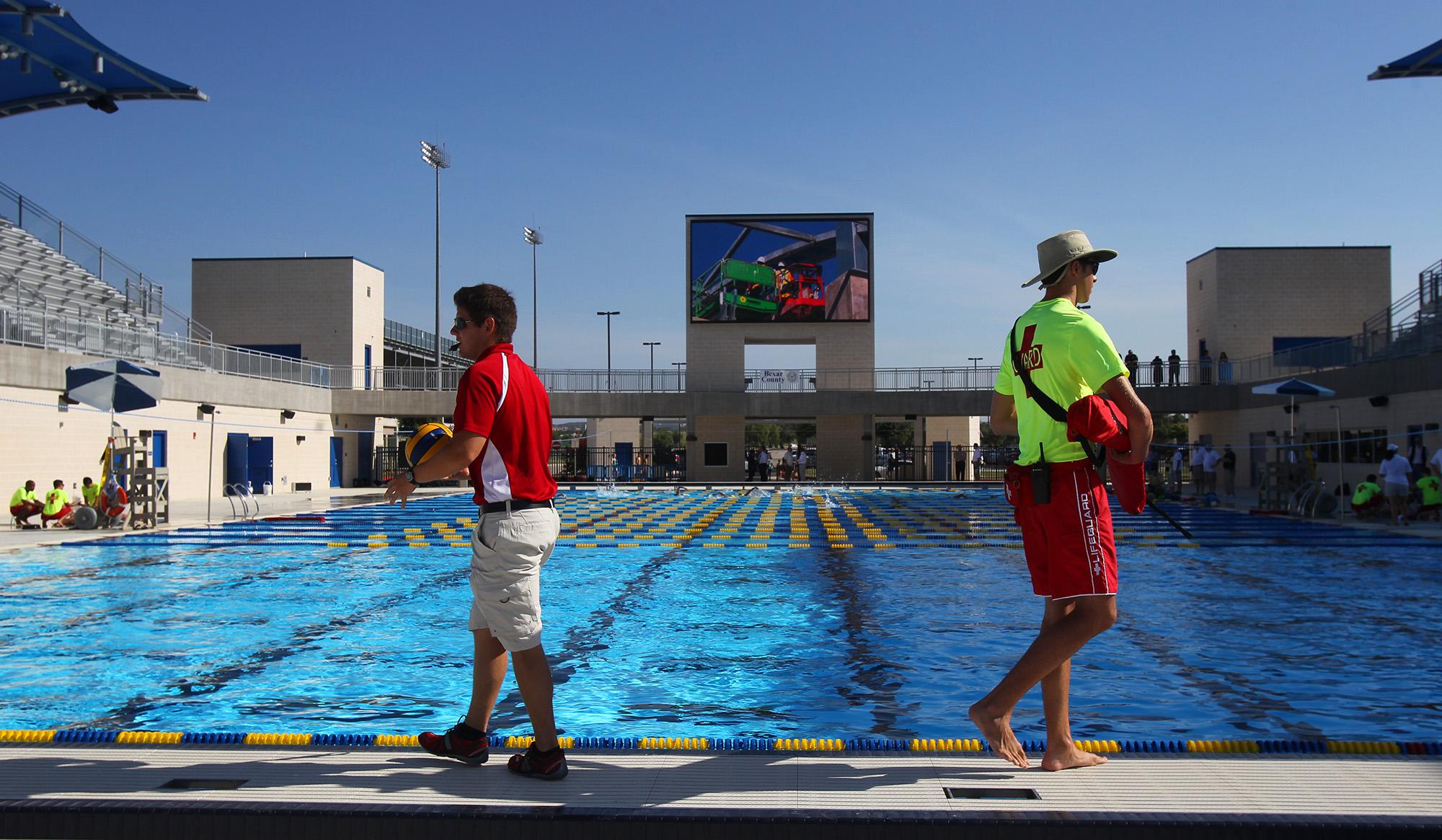 Nisd Bexar County Open Aquatic Center San Antonio
