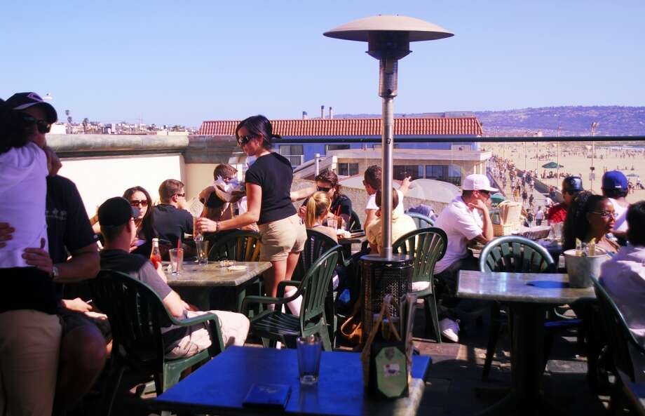 ...Zeitgeist, the Ramp, Beer Revolution and every other bar or restaurant with an outdoor space is packed.