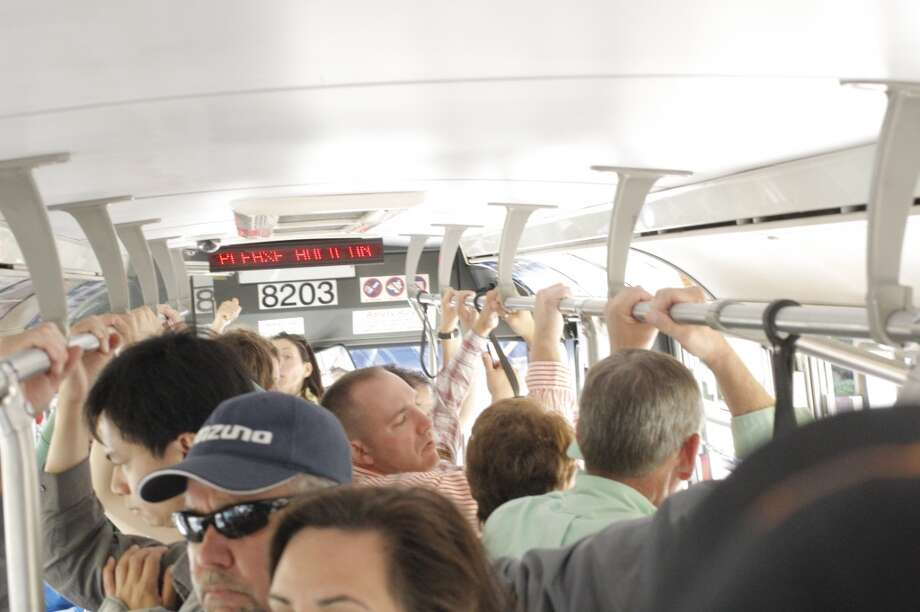.. .public transit becomes a  gross tropical micro climate.