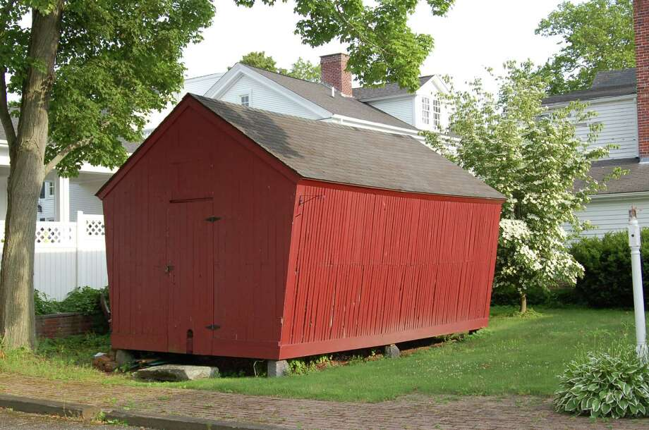 The Connecticut Trust for Historic Preservation has published a Barns Trail self-guided tour brochure that directs day-trippers to some of the more than 8,500 barns in the state, including this one, a corn crib, at the Madison Historical Society. Photo: DAVID W. KEYES/STAFF PHOTO
