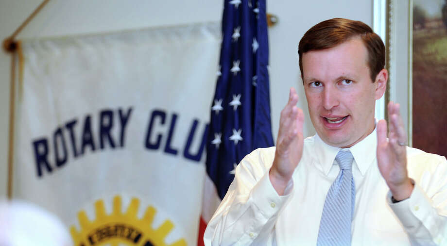 Congressman Chris Murphy Photo: Carol Kaliff, ST / The News-Times