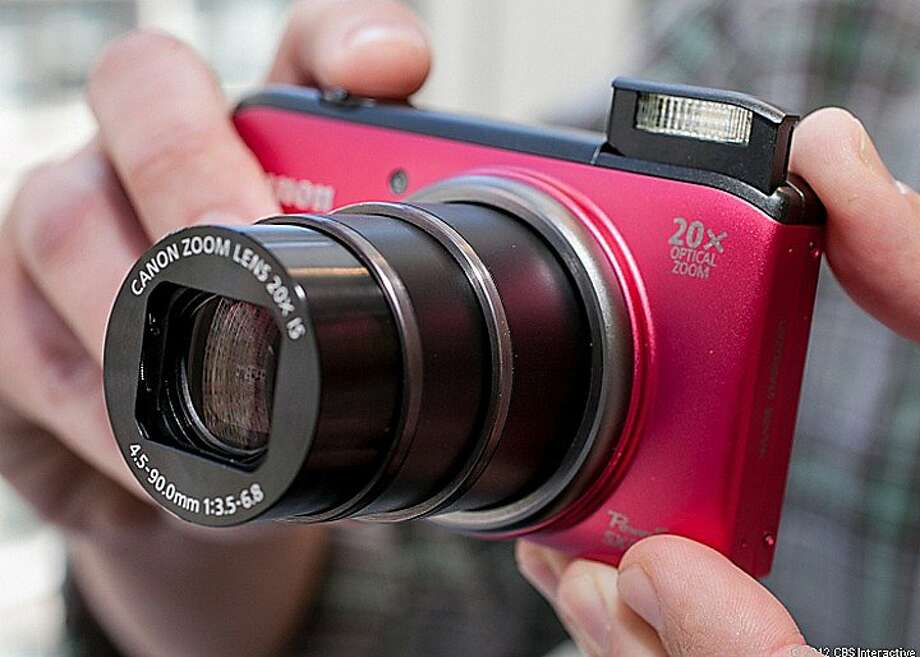 Canon PowerShot SX260 HS Photo: Cnet Review