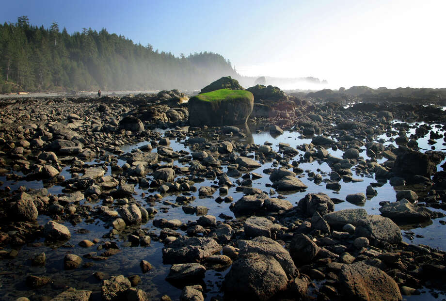 Tide pools and boulders dot the scape along the tide-dictated path south from Ozette to Rialto Beach in the Olympic National Park. Photo: JOSHUA TRUJILLO, SEATTLEPI.COM