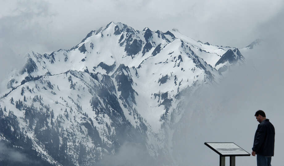 The Hurricane Ridge viewpoint is shown in Olympic National Park. Photo: JEFF LARSEN, SEATTLE POST-INTELLIGENCER FILE