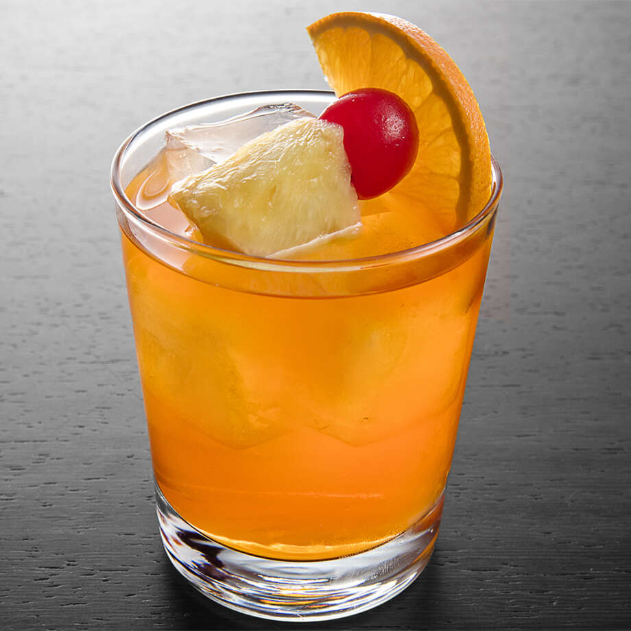 Bermuda Rum Swizzle:Having a party? Then whip up this deliciously frothy pitcher cocktail that calls for two types of rum, pineapple juice, orange juice, grenadine and a few dashes of Angostura Bitters for depth. It just may be your new favorite summer recipe.