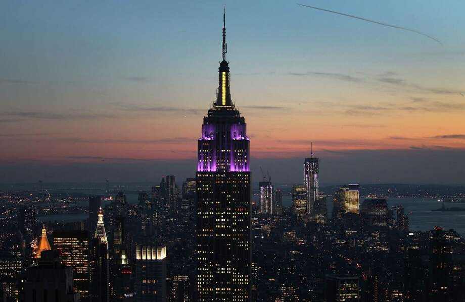 Greenwich commercial property moguls Peter Malkin, and his son, Anthony Malkin, who control the Empire State Building, have received three unsolicited bids worth at least $2 billion each to buy the New York City landmark. Photo: John Moore, Getty Images / Getty Images