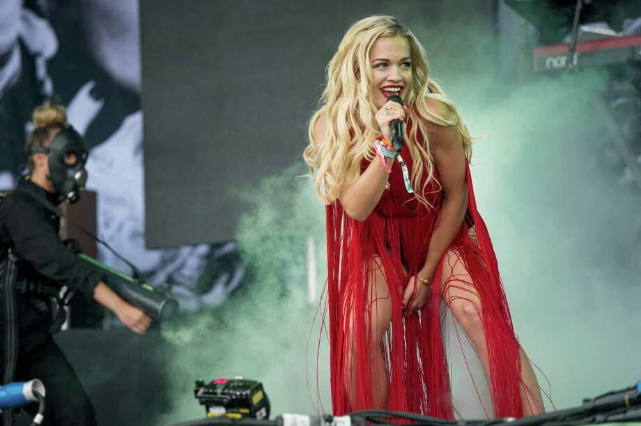 Rita Ora performs live on the Pyramid Stage at day 2 of the 2013 Glastonbury Festival at Worthy Farm on June 28, 2013 in Glastonbury, England. Photo: Ian Gavan, Getty Images / 2013 Getty Images