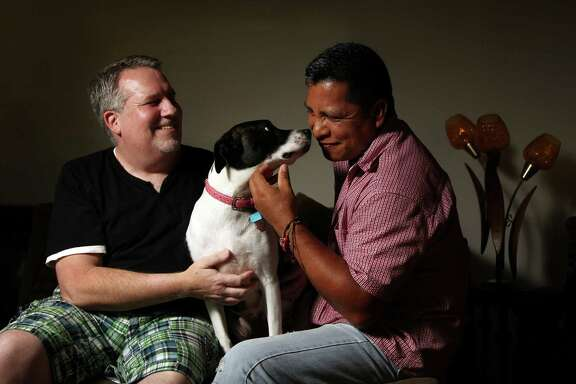 Fred Smith and Isaias Rivas-Guzman plan to marry next week in Massachusetts, then seek a green card for Rivas-Guzman.