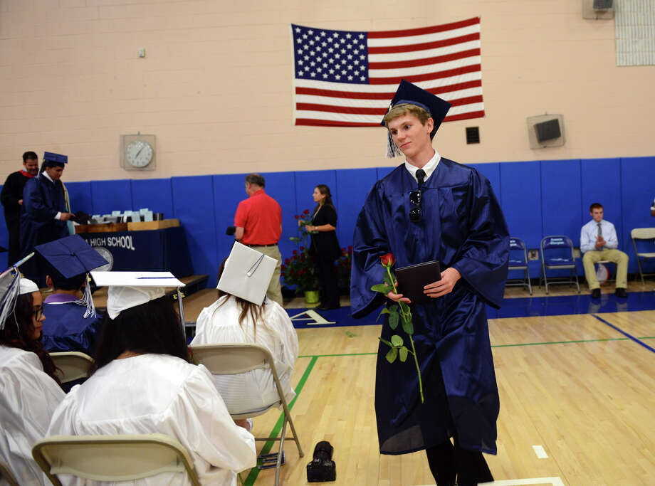 Ansonia High School's Commencement Exercises in Ansonia, Conn. on Friday June 28, 2013. Photo: Christian Abraham / Connecticut Post