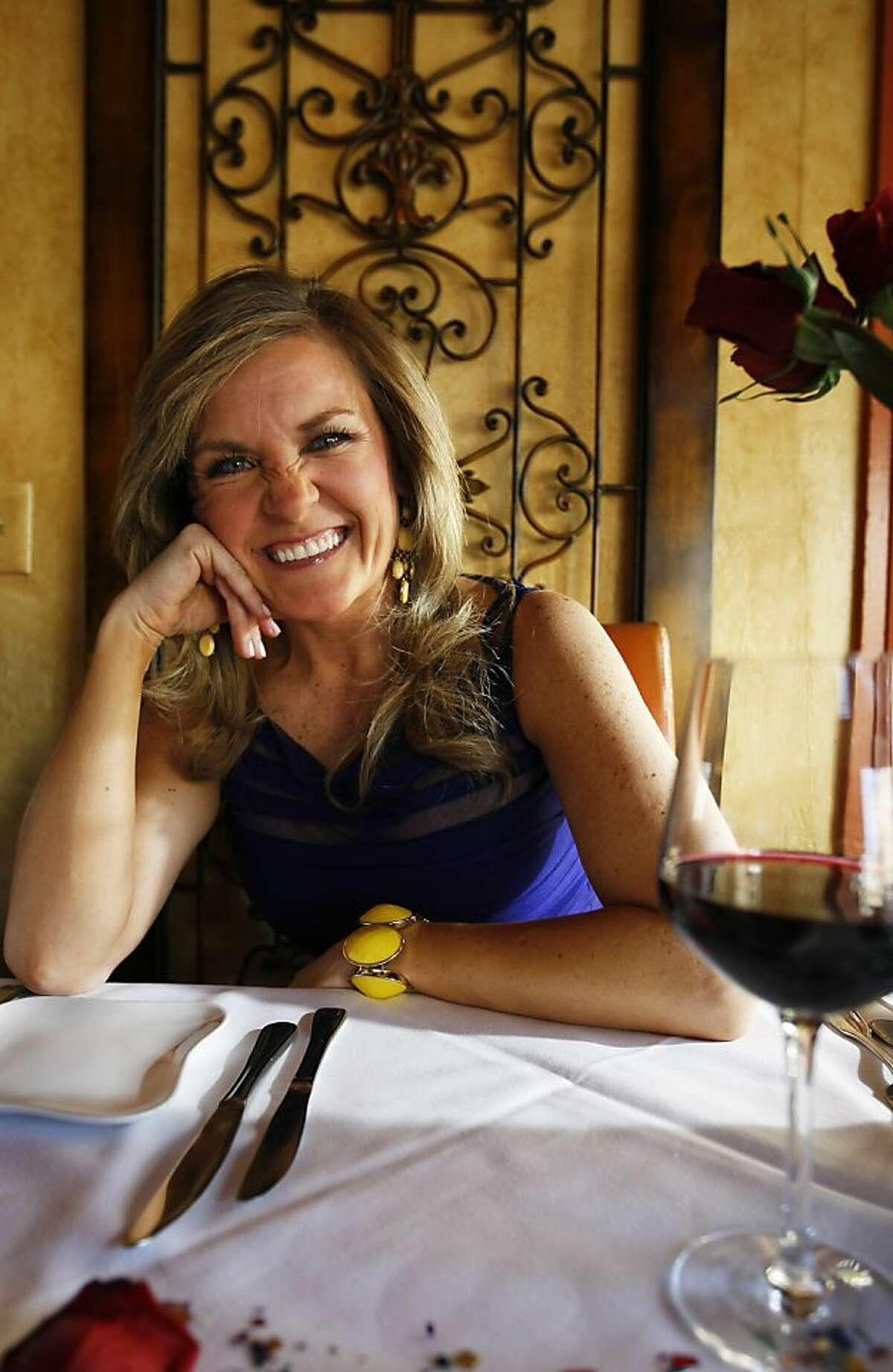 Fabiola Kramsky at one of her favourite restaurants, Allegro Romano on Thursday, June 6, 2013, in San Francisco, Calif.
