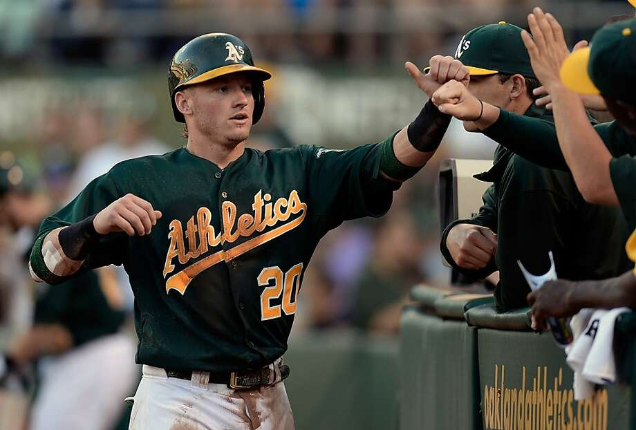 Josh Donaldson, a converted catcher, was toiling in the minors a year ago. Now he's an All-Star candidate. Photo: Thearon W. Henderson, Getty Images