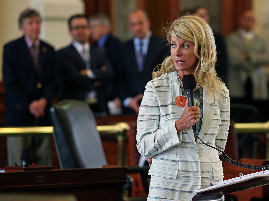 Texas opened a new chapter in the abortion battle this year, and in the process made Sen. Wendy Davis, D-Fort Worth, a nationally noted political phenomenon who has since launched a credible race for governor. Photo: San Antonio Express-News / San Antonio Express-News