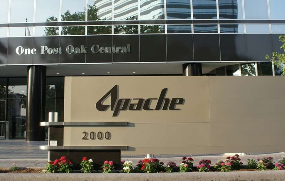 The Apache Corp. headquarters in Houston.