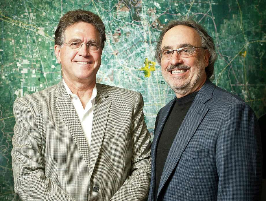 Martin Bronstein, left, and Ralph Howard together created BHW a commercial real estate investment firm, Wednesday, June 26, 2013, in Houston. ( Nick de la Torre / Houston Chronicle ) Photo: Nick De La Torre, Staff / © 2013  Houston Chronicle