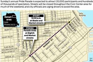 Pride Parade route - Photo