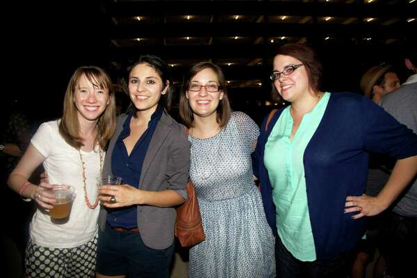 On a hot night, San Antonians cooled off at the kickoff of Artpace's Fresh Art First summer concert series on June 28.