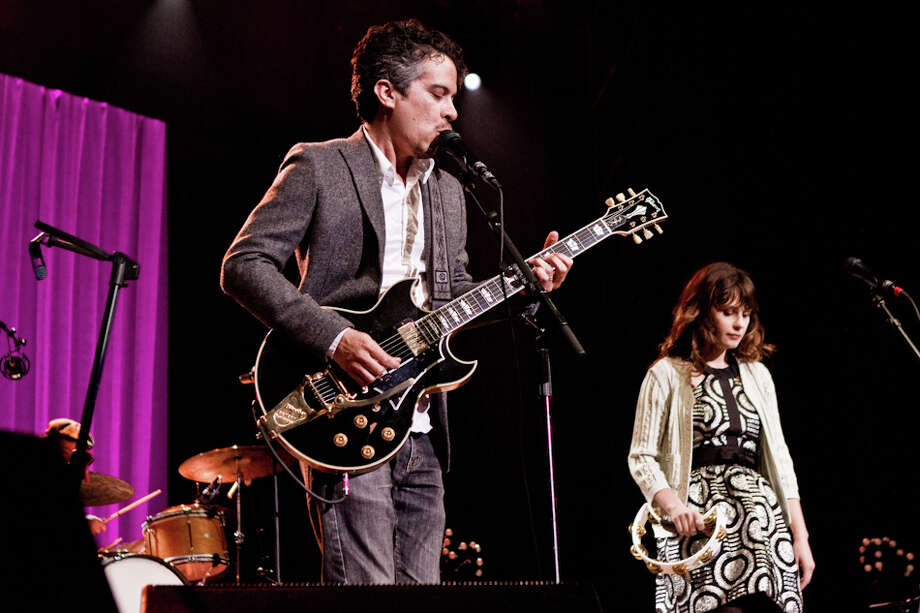 She & Him performs at the Greek Theater in Berkeley on June 22, 2013. Photo: Moses Namkung / Butchershop Creative Archive all rights reserved
