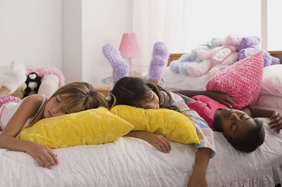Kids love sleepovers, but they're often exhausting for parents. Plan a slumber party swap — it means more fun for the kids and a night off for the parents.