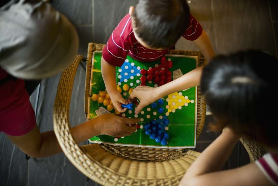 Hold a family game night after dinner. Try charades, Chinese checkers, Bingo, Monopoly, Sorry...