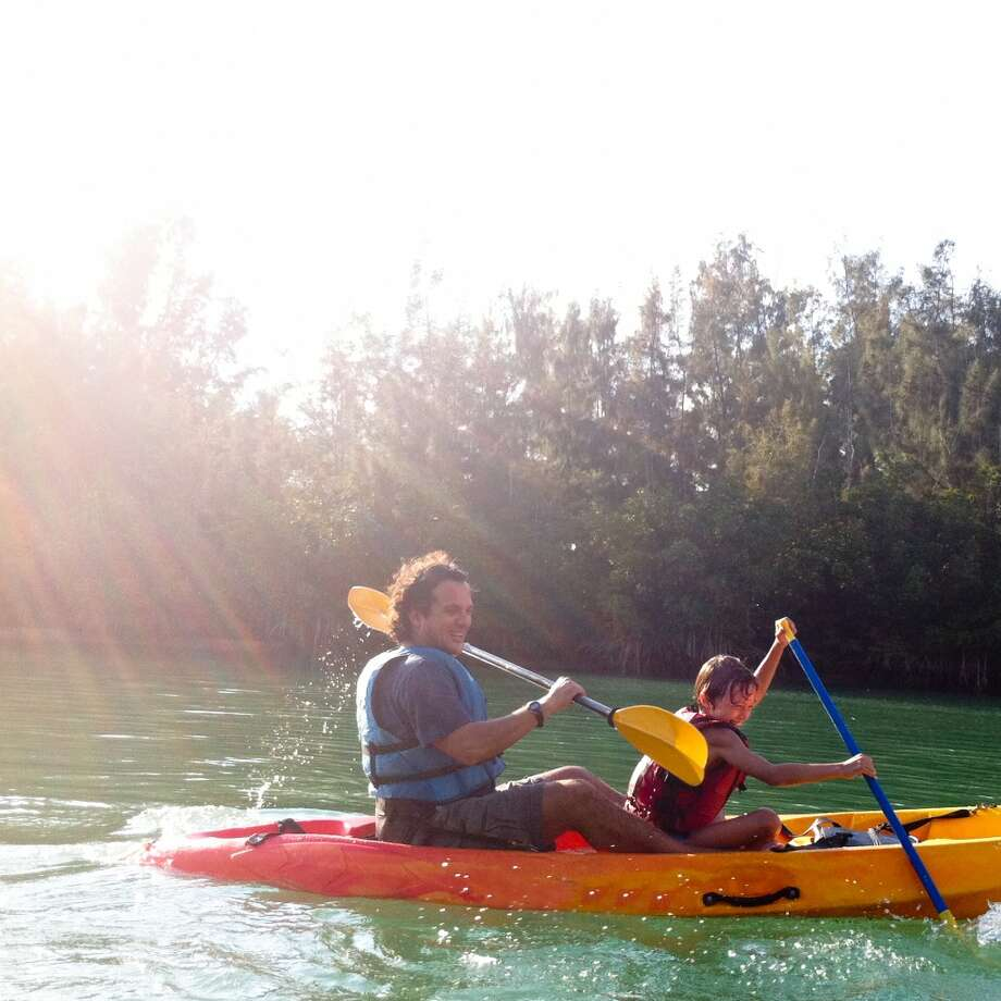 Hit the water — try kayaking, canoeing or paddleboarding at a nearby lake or river.