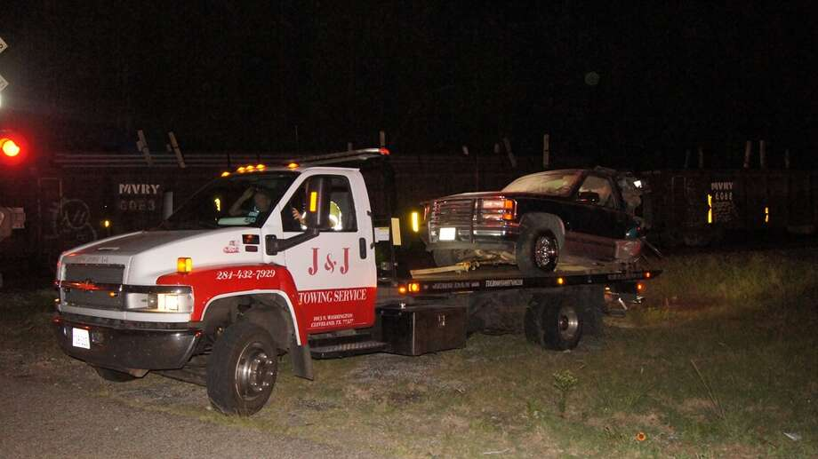J&J Wrecker Service loaded the truck and all the pieces scattered for over one half mile.