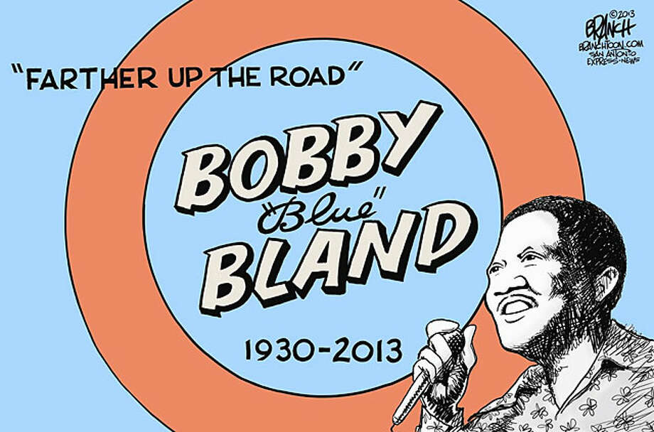 "Bobby ""Blue"" Bland. Photo: John Branch/Express-News"