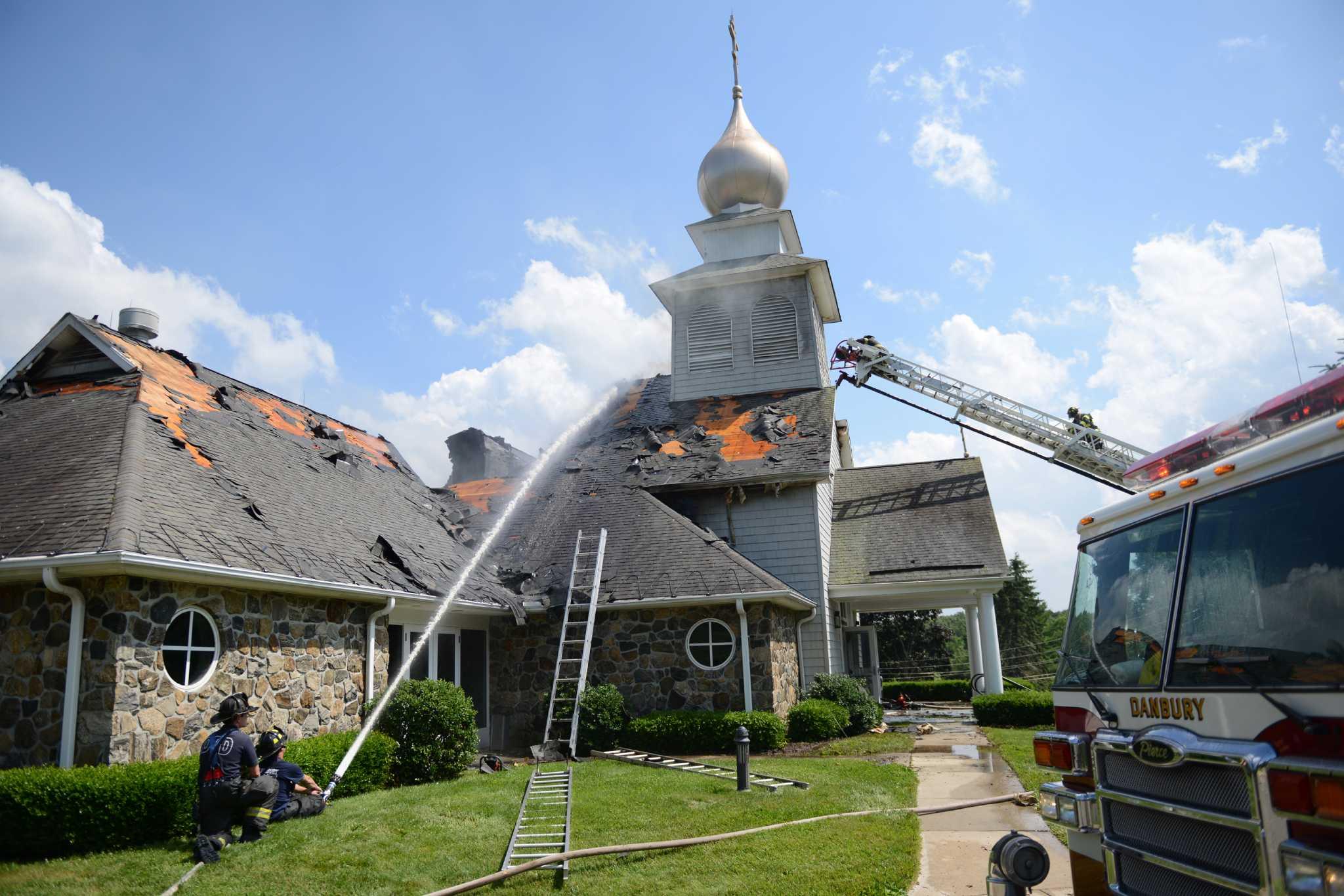 Fire Destroys Danbury Church Newstimes