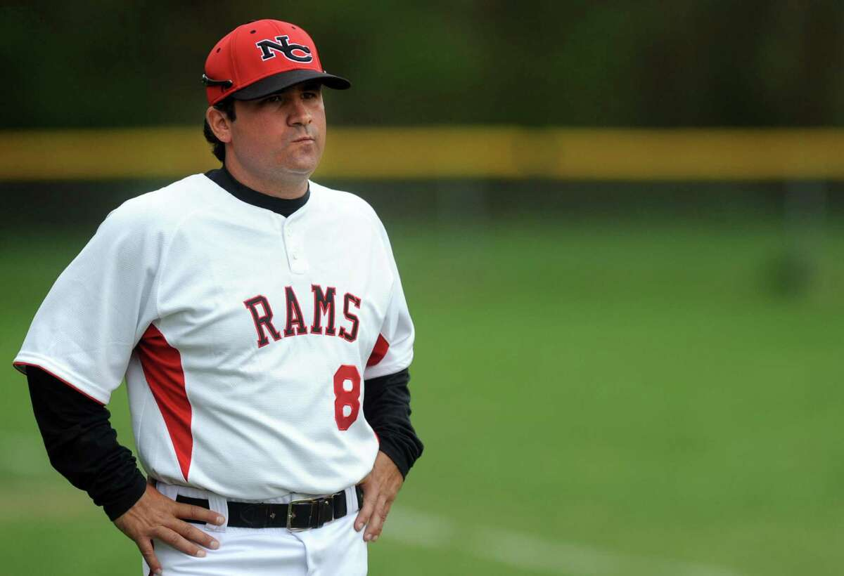 Hearst Connecticut Newspapers Super 15 Baseball All-Star Coach of the Year Mitch Hoffman of New Canaan. Hoffman lead the Rams to the first state title since 1950 this season.