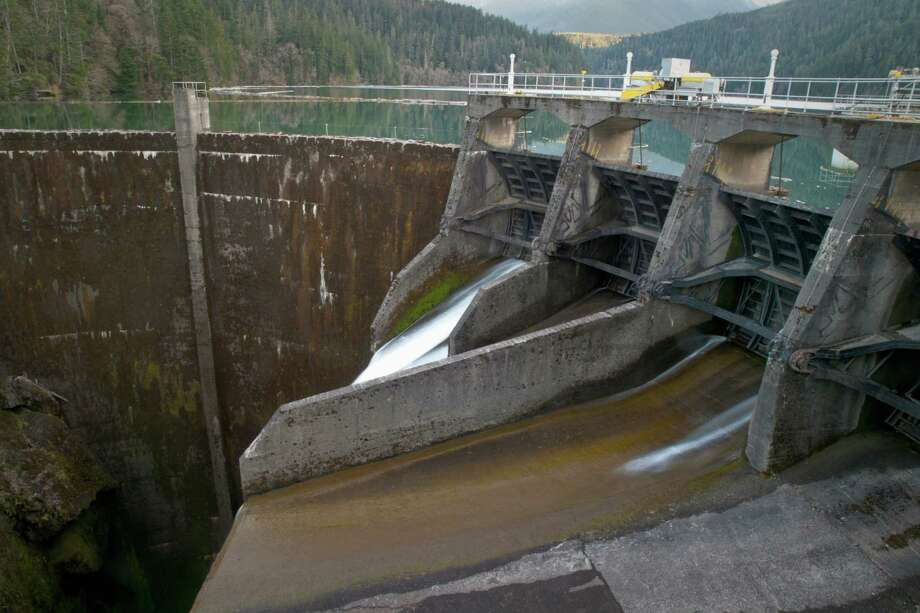 Elwha Dam, now gone Photo: Danita Delimont, Getty Images/Gallo Images / Gallo Images